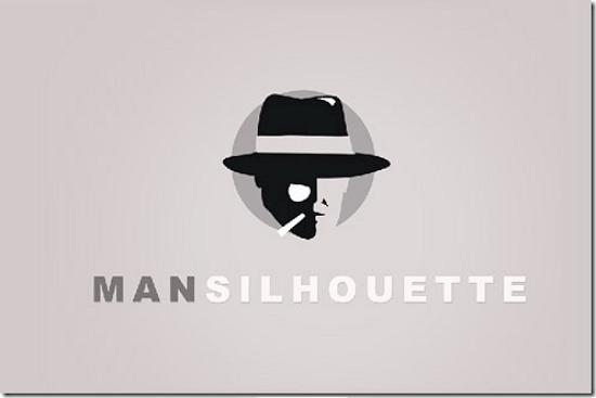 mansilhouette498x328 Latest Web2.0 Logo Designs for Designers