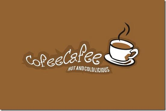 cofeecafee493x328 Latest Web2.0 Logo Designs for Designers